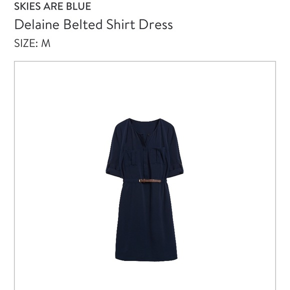 Skies Are Blue Dresses & Skirts - 3/4 length dress